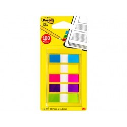 Index Post-It Mini neon kleuren/set5x20