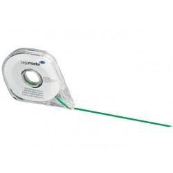 Verdeeltape Lega 2,5mmx16m zelfh. groen
