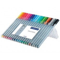 Fineliner Staedtler Triplus 0,3 ass/ds20