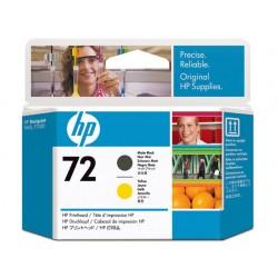 Printkop HP 9384A DJT1100 matzwart/geel
