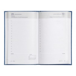 Agenda 10x17 1dpp Breform 6t lijn zwart
