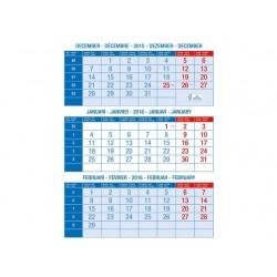 Kalender 3-maands