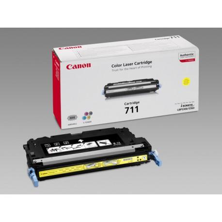 Toner Canon CRT-711Y 6K geel