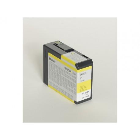 Inkjet Epson T5804 80 ml foto geel
