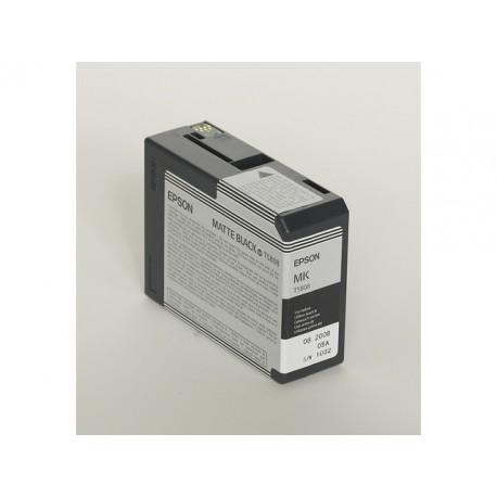 Inkjet Epson T5808 80ml foto mat zwart