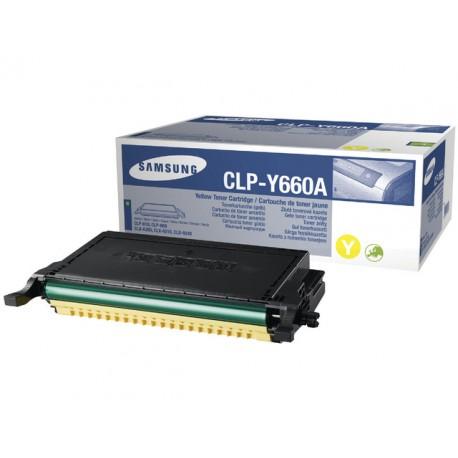 Toner Samsung CLP-Y660A 2K geel