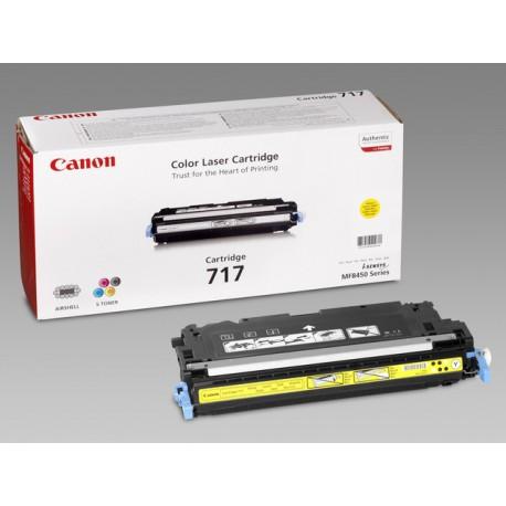Toner Canon 717-Y 4K geel