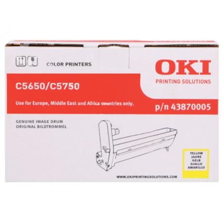 Drum Oki C5650/C5750 20K geel