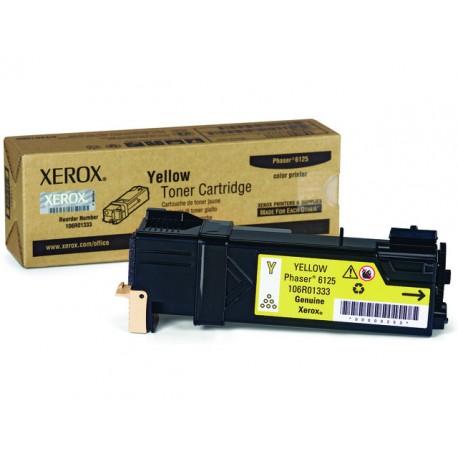 Toner Xerox Phaser 6125 1K geel