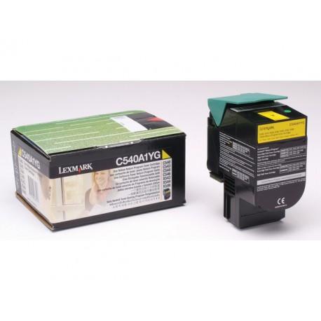 Toner Lexmark C540/543/544 X543 geel