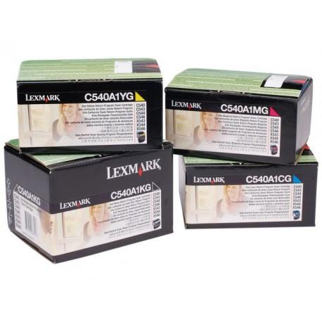 Toner Lexmark C540/543/544, X543 zwart