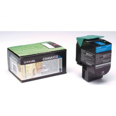 Toner Lexmark C540/543/544, X543 cyan