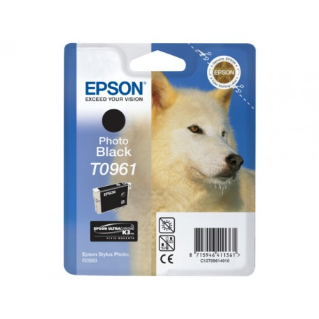 Inkjet Epson T0961 photo black