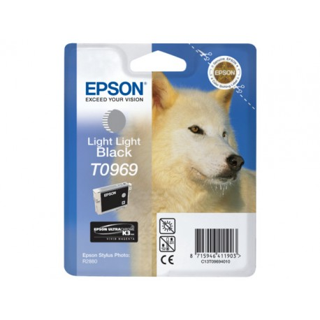 Inkjet Epson T0969 licht licht zwart