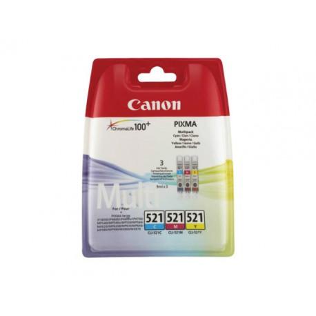 Inkjet Canon CLI-521 multipack kleur