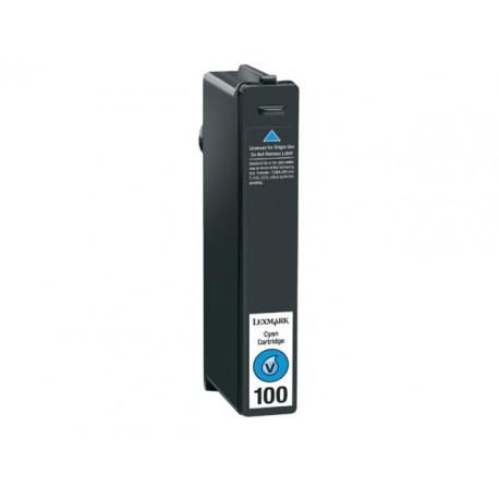 Inkjet Lexmark 100 return 14N0900E cyan