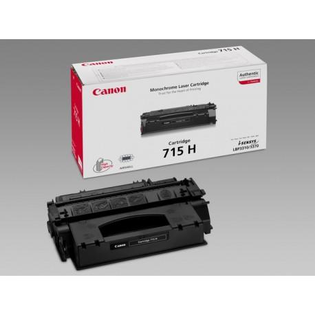Toner Canon CRG-715H 7K zwart