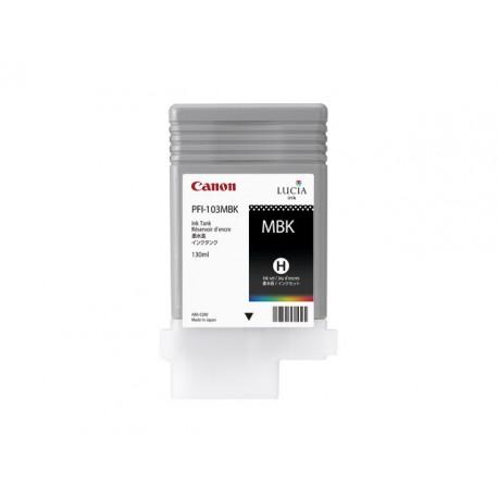 Inkjet Canon PFI-103MBK 130ml mat zwart