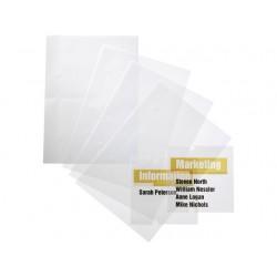 Folie deurnaambord crystal 4831/pak 10