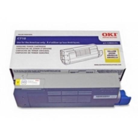 Toner Oki C710/C711 11K geel