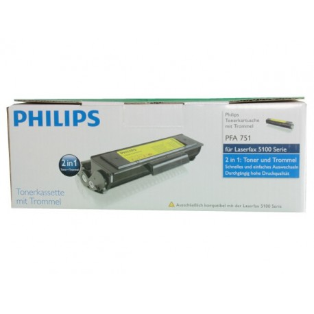 Toner/drum Philips PFA 751 2K zwart