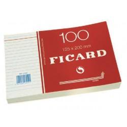 Systeemkaart 125x200 lijn/pak10x100