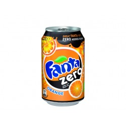 Frisdrank Fanta Orange Zero 0,33L/pk 24