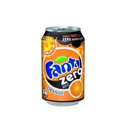Frisdrank Fanta Orange Zero 0,33L/pk 24