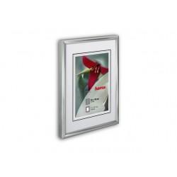 Fotolijst 21x30 cm mat zilver ds/24