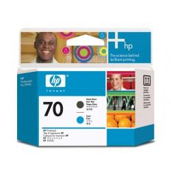 Printkop HP C9404A mat zwart en geel