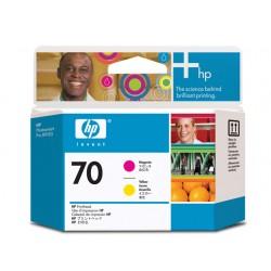 Printkop HP C9406A magenta en geel