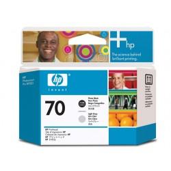 Printkop HP C9407A zwart en lichtgrijs