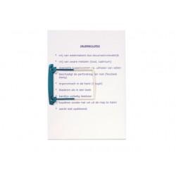 Hangmap Jalema Secolor Clipex blauw/ds50