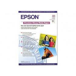 Papier Epson glossy photo A3 255g/pak 20