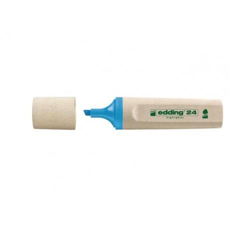 Tekstmarker edding 24 eco 2-5 mm bl/ds10