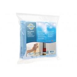 Microvezel doekjes BRPR blauw/pk 5