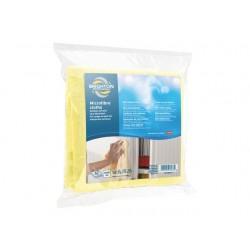 Microvezel doekjes BRPR geel/pk 5