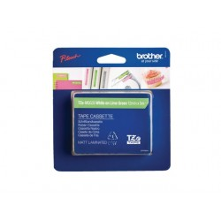 Tape Brother TZE-MQG35 12mm wit/groen