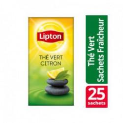 Theezakje Lipton groene thee lemo/pk6x25